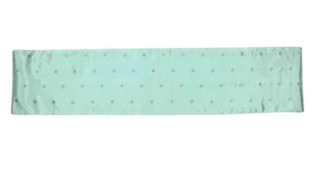 Suraj Table Runner (Green) by Urban Ladder - Front View Design 1 - 340595