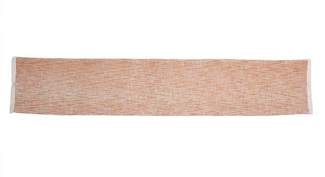 Zafraan Table Runner (Orange) by Urban Ladder - Front View Design 1 - 340596