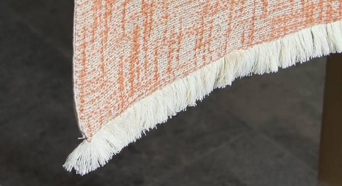 Zafraan Table Runner (Orange) by Urban Ladder - Design 1 Close View - 340606