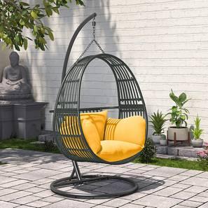 Izara Swing Chair (Grey) by Urban Ladder - Design 1 Picture - 340608