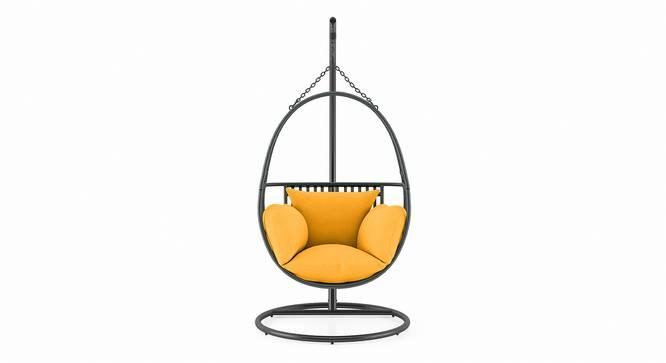 Izara Swing Chair (Grey) by Urban Ladder - Front View Design 1 - 340610