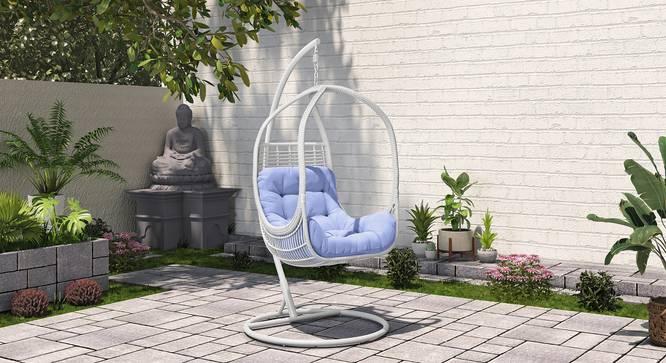 Kamilah Swing Chair (White) by Urban Ladder - Design 1 Full View - 340617