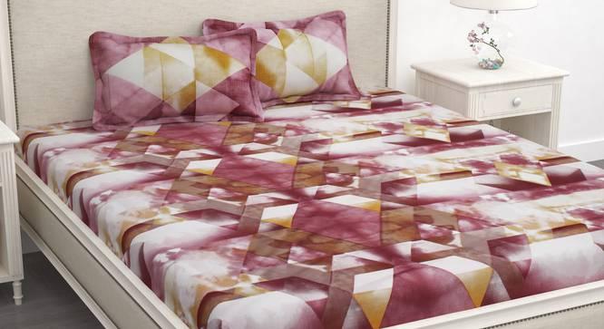 Caelan Bedsheet (White, King Size) by Urban Ladder - Design 1 Full View - 340805