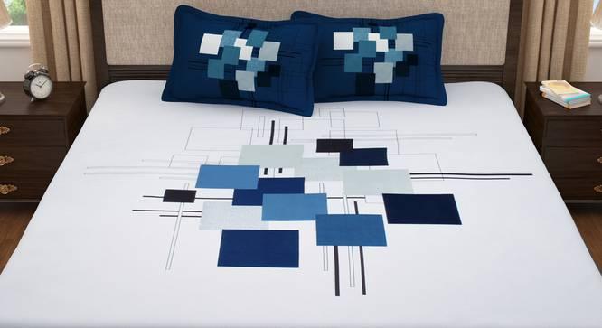 Everest Bedsheet (King Size) by Urban Ladder - Front View Design 1 - 342061
