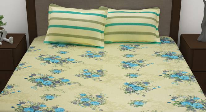 Ford Bedsheet (King Size) by Urban Ladder - Front View Design 1 - 342094