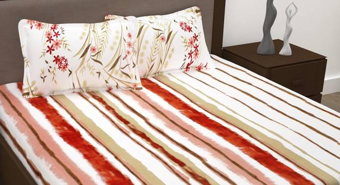 Jasmine Bedsheet (Queen Size) by Urban Ladder - Design 1 Full View - 342120