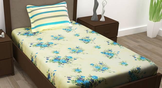 Lana Bedsheet (Single Size) by Urban Ladder - Design 1 Full View - 342154