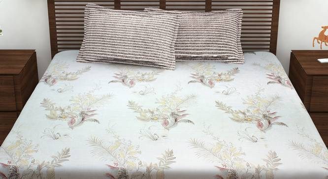 Meadow Bedsheet (King Size) by Urban Ladder - Front View Design 1 - 342162