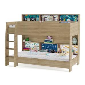 Rainbow Storage Bunk Bed (Oak, Matte Finish) by Urban Ladder - Front View Design 1 - 347846