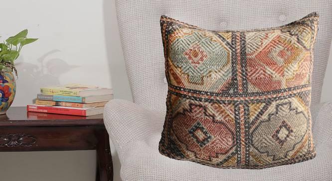 "Collins Cushion Cover (51 x 51 cm  (20"" X 20"") Cushion Size) by Urban Ladder - Design 1 Half View - 348630"