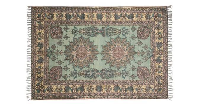 "Myra Dhurrie (230 x 160 cm (91"" x 63"") Carpet Size) by Urban Ladder - Front View Design 1 - 348851"