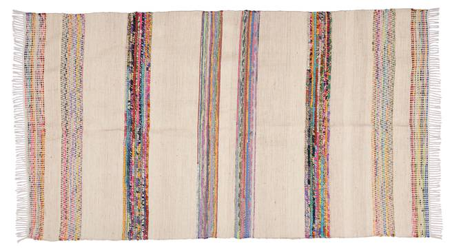 """Stacey Dhurrie (240 x 150 cm  (94"""" x 59"""") Carpet Size) by Urban Ladder - Front View Design 1 - 348940"""