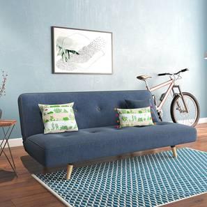 Zehnloch Sofa Cum Bed (Midnight Indigo Blue) by Urban Ladder - Full View Design 1 - 348983