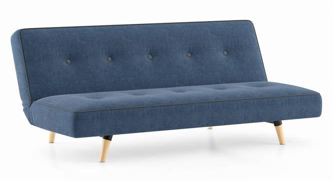 Zehnloch Sofa Cum Bed (Midnight Indigo Blue) by Urban Ladder - Cross View Design 1 - 348985