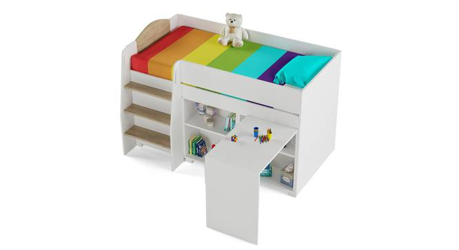 All Star Loft Bed By Boingg! (Oak, Matte Finish) by Urban Ladder - Design 1 Top Image - 349007