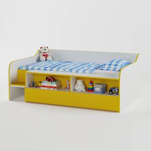 Bumblebee Storage Bed By Boingg! (Matte Finish) by Urban Ladder - Design 1 Top Image - 349060
