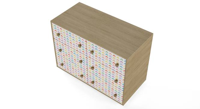Bunk Box Chest of Six Drawers By Boingg! (Matte Finish) by Urban Ladder - Design 1 Top Image - 349063