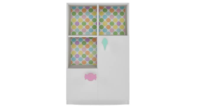 Candyland Cabinet By Boingg! (White, Matte Finish) by Urban Ladder - Front View Design 1 - 349075