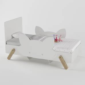Catnap Bed By Boingg! (White, Matte Finish) by Urban Ladder - Design 1 Top Image - 349137