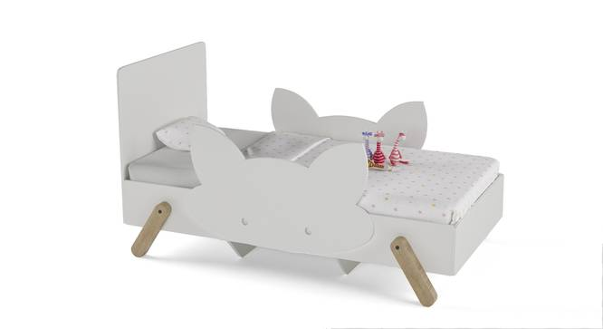 Catnap Bed By Boingg! (White, Matte Finish) by Urban Ladder - Design 1 Side View - 349149