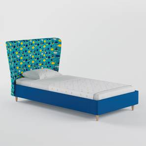 Doodle Bed By Boingg! (Blue, Matte Finish) by Urban Ladder - Design 1 Top Image - 349200