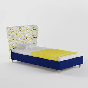 Doodle Bed By Boingg! (Royal Blue, Matte Finish) by Urban Ladder - Design 1 Top Image - 349202