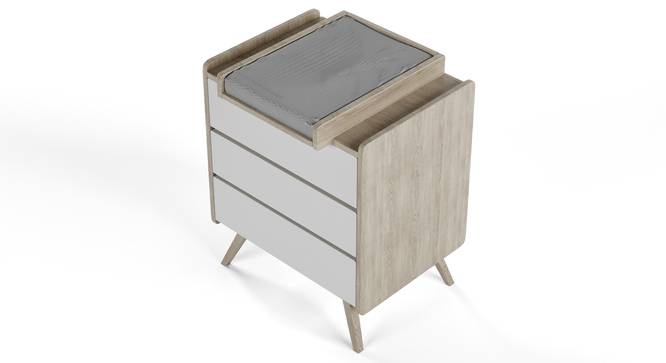 Cuckoo's Nest Changing Table By Boingg! (Oak, Matte Finish) by Urban Ladder - Design 1 Top Image - 349210