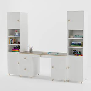 Dynamo Study Table By Boingg! (White, Matte Finish) by Urban Ladder - Design 1 Top Image - 349277