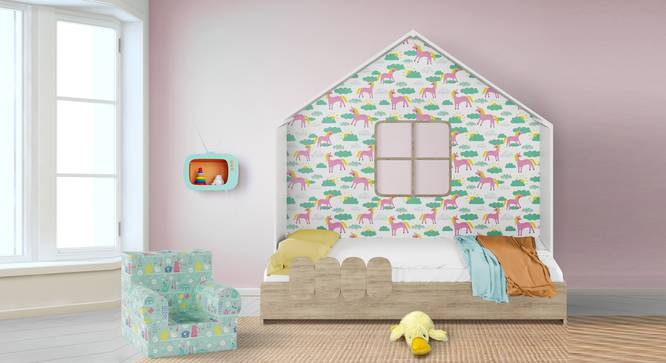 Little Hut Bed By Boingg! (Matte Finish) by Urban Ladder - Design 1 Full View - 349352