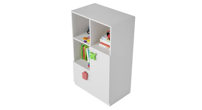 Joy Ride Cabinet By Boingg! (White, Matte Finish) by Urban Ladder - Design 1 Top Image - 349359