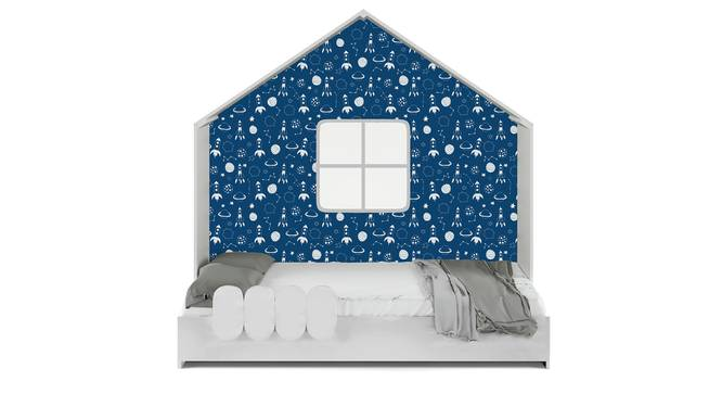 Little Hut Bed By Boingg! (White, Matte Finish) by Urban Ladder - Front View Design 1 - 349362
