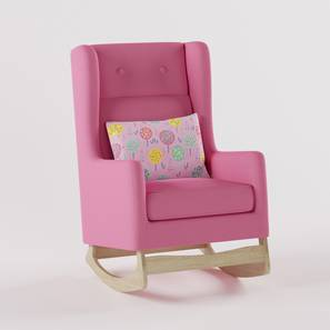 Lullaby Nursing Chair By Boingg! (Coral, Matte Finish) by Urban Ladder - Design 1 Side View - 349412