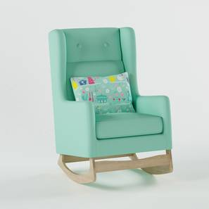 Lullaby Nursing Chair By Boingg! (Mint, Matte Finish) by Urban Ladder - Design 1 Side View - 349413