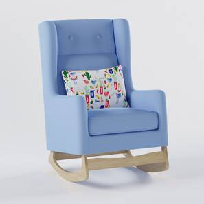 Lullaby Nursing Chair By Boingg! (Blue, Matte Finish) by Urban Ladder - Design 1 Top Image - 349414