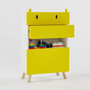 Papa hippo chest of four drawers yellow 62 lp