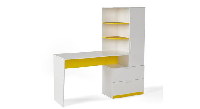 Mr Practical Study Table By Boingg! (Matte Finish) by Urban Ladder - Design 1 Side View - 349483