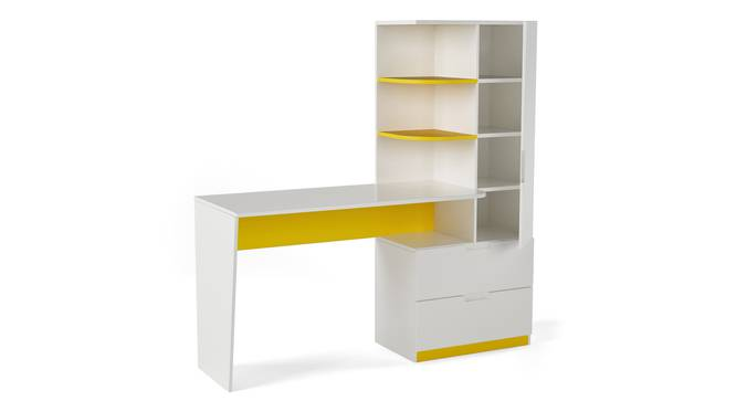 Mr Practical Study Table By Boingg! (Matte Finish) by Urban Ladder - Design 1 Side View - 349492