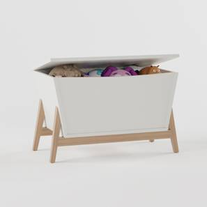 Peek-a-boo Treasure Chest By Boingg! (Matte Finish) by Urban Ladder - Design 1 Side View - 349590