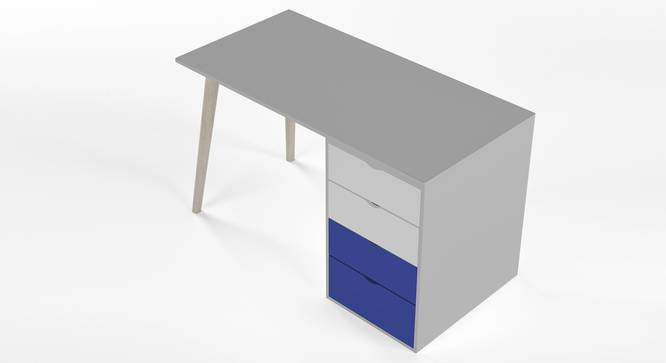 Philosopher Study Table By Boingg! (Blue, Matte Finish) by Urban Ladder - Design 1 Top Image - 349593