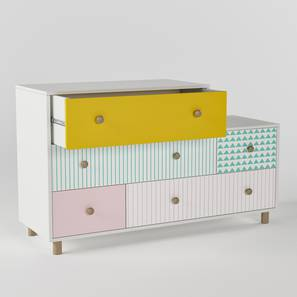 Untangled Chest of Five Drawers By Boingg! (Matte Finish) by Urban Ladder - Design 1 Top Image - 349791