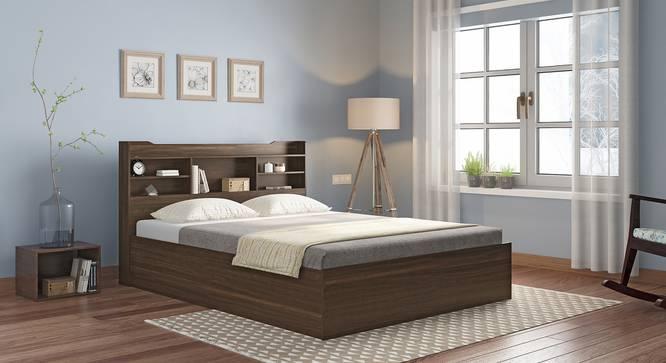 Sandon Storage Bed (King Bed Size, Box Storage Type, Californian Walnut Finish) by Urban Ladder - Full View Design 1 - 349913
