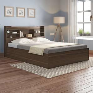 Sandon Storage Bed (Queen Bed Size, Box Storage Type, Californian Walnut Finish) by Urban Ladder - Full View Design 1 - 349934