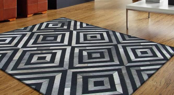 "Zyrex Rug (Rectangle Carpet Shape, 122 x 183 cm  (48"" x 72"") Carpet Size) by Urban Ladder - Design 1 Full View - 350244"