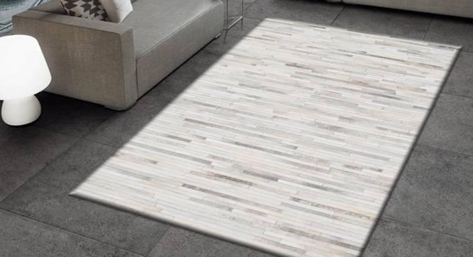 "Otrix Rug (Rectangle Carpet Shape, 122 x 183 cm  (48"" x 72"") Carpet Size, Natural) by Urban Ladder - Design 1 Full View - 350603"