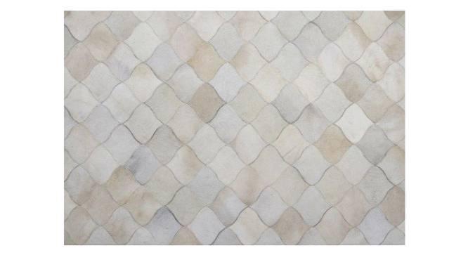 "Rebar Rug (Rectangle Carpet Shape, 91 x 152 cm  (36"" x 60"") Carpet Size, Natural) by Urban Ladder - Front View Design 1 - 350632"
