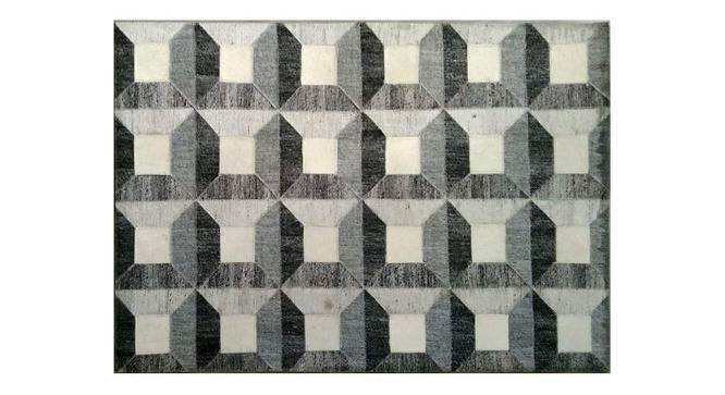 "Alteza Rug (Grey, Rectangle Carpet Shape, 274 x 183 cm  (108"" x 72"") Carpet Size) by Urban Ladder - Front View Design 1 - 350735"