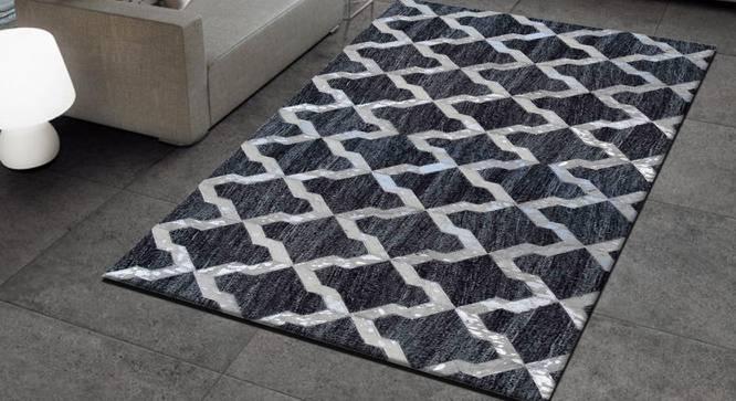 "Nicolt Rug (Rectangle Carpet Shape, 244 x 152 cm  (96"" x 60"") Carpet Size) by Urban Ladder - Design 1 Full View - 350834"