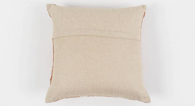 """Contour Cushion Cover (Blush, 45 x 45 cm  (18"""" X 18"""") Cushion Size) by Urban Ladder - Rear View Design 1 - 350996"""