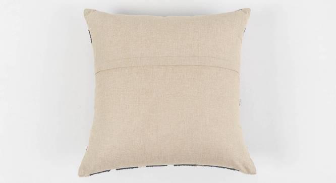 """Contour Cushion Cover (Blue, 50 x 50 cm  (19"""" X 19"""") Cushion Size) by Urban Ladder - Rear View Design 1 - 350997"""