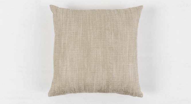 """Jubilee Cushion Cover (Gold, 50 x 50 cm  (19"""" X 19"""") Cushion Size) by Urban Ladder - Front View Design 1 - 351056"""